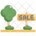 Sale Land Real Icon