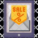Email Marketing Promotion Icon
