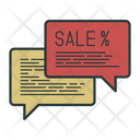 Action Closeout Sale Icon
