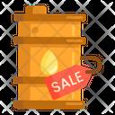 Sale Of Oil Icon