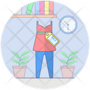 Sale On Cloth Cloth Discount Sale Shopping Icon