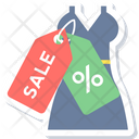 Sale On Dress Icon