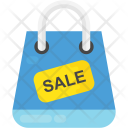 Sale on Shopping Icon