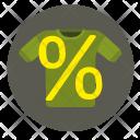 Sale Tshirt Percent Icon