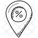 Sale Pointer Symbol Icon