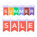 Hanging Sale Mark Sale Labels Sale Poster Icon