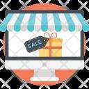 Online Discount Sale Icon