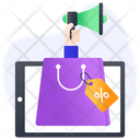 Shopping Promotion Sale Promotion Online Shopping Icon