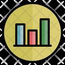 Statistics Infographics Sale Report Icon