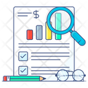 Business Analysis Sales Report Business Report Icon