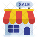 Marketplace Sale Outlet Storehouse Icon
