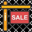 Sale Sign Board Icon