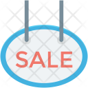 Sale Sign board Icon