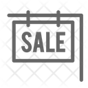 Sale Signboard Discount Icon