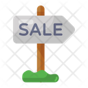 Sale Signboard Icon