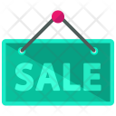 Sale Signboard Sign Icon