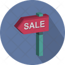 Sale Signpost Icon