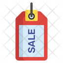 Sale Discount Tag Cut Price Icon