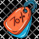 Sale Discount Cut Price Icon