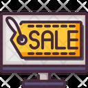 Online Shop Sale Website Icon