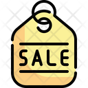Sale Offer Label Icon