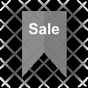 Sale Tag Bookmark Icon