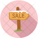 Sale Arrow Sign Icon