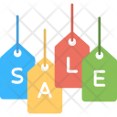 Sale Tags Labels Icon