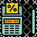 Sale Tax Receipt Icon