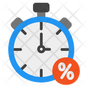Sale Time Limited Time Sale Black Friday Icon