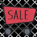 Sale Trolley Icon