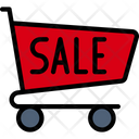 Sale Trolly Icon