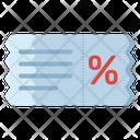 Sale Voucher Sale Coupon Discount Voucher Icon