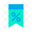 Discount Percentage Sale Icon
