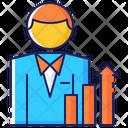 Business Businessman Sales Icon