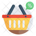 Shopping Sale Shopping Discount Grocery Sales Icon