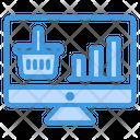 Sales Analytics Business Icon