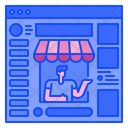 Sales Online Shopping Icon