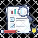 Statistics Sales Analysis Chart Infographic Icon