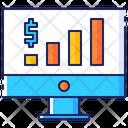 Sales analystics Icon