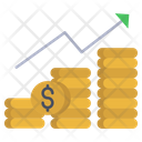 Sales And Marketing Growth Profit Icon