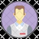 Salesman Salesperson Sales Assistant Icon
