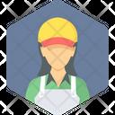 Sales Assitant Female Icon
