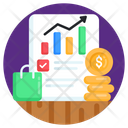 Statistics Financial Chart Chart Infographic Icon