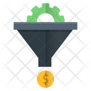 Sales funnel Icon