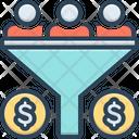 Sales Funnel Sales Funnel Icon