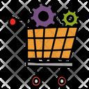Ecommerce Online Sales Order Management Icon