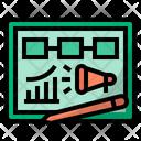 Sales Planning Marketing Plan Icon