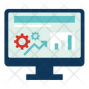 Analysis Financial Report Icon
