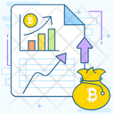 Bitcoin File Bitcoin Document Cryptocurrency File Icon